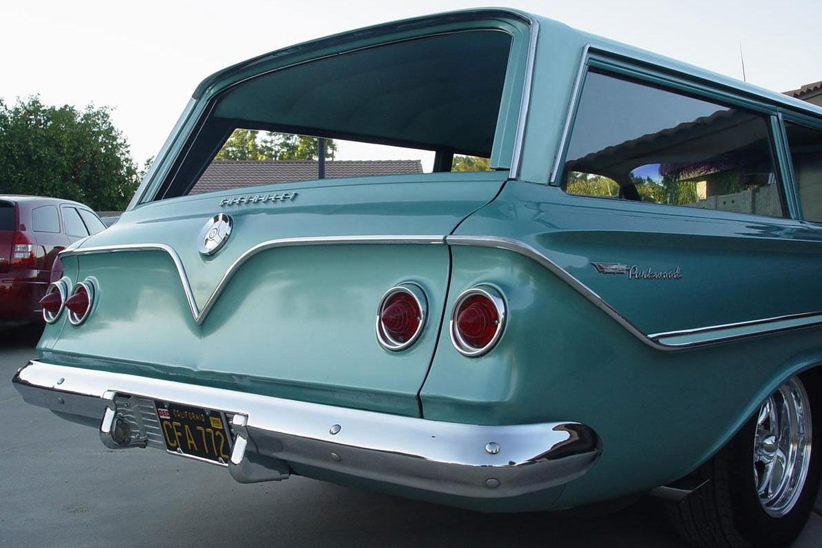 Chevrolet Bel Air Parkwood atdzimšana