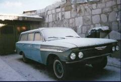 Chevrolet Bel Air Parkwood 1961