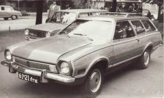 Ford Pinto STW 1972 Kanāda