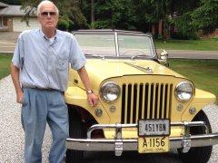 Vīrs no Ohaijo atjauno pusaudža gados iegādātu Jeepster