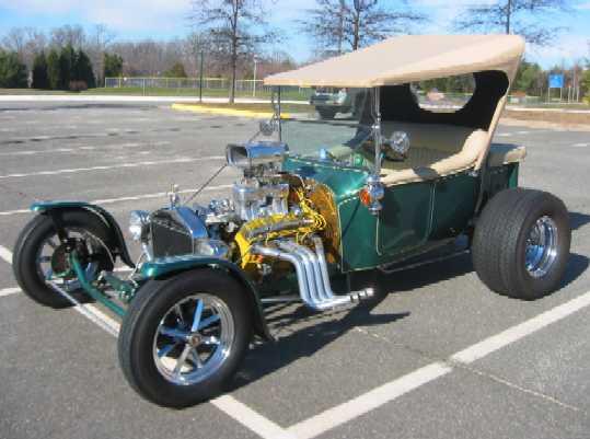 Ford Model T modificēts
