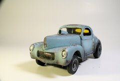 1940 Willys Coupe (gasser)